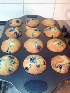 Blythe Danners Blueberry Muffins