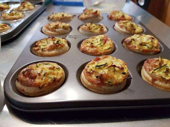 zucchini-salami-tartlets